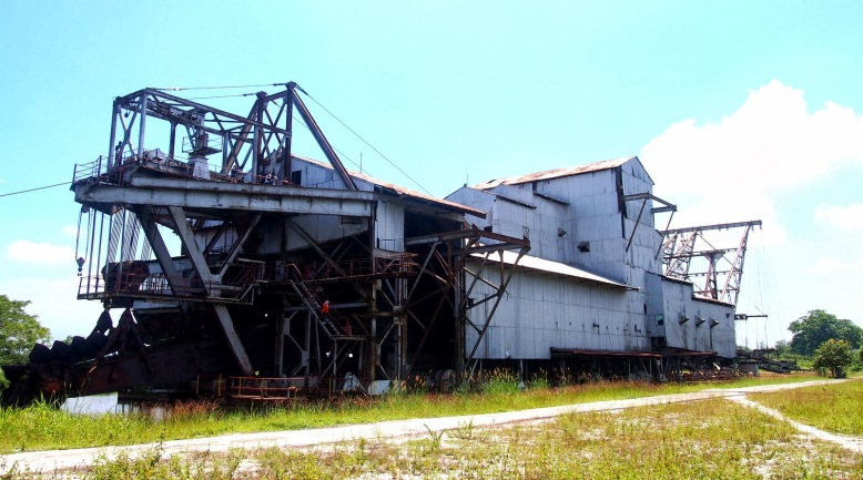 Tanjung Tualang Tin Dredge Ship 1