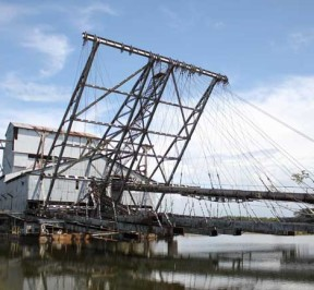 Tanjung Tualang Tin Dredge Ship