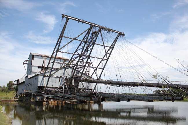 Tanjung Tualang Tin Dredge Ship