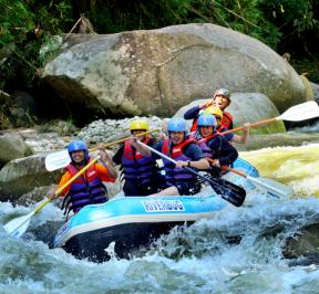 Whitewater Rafting Perak 1