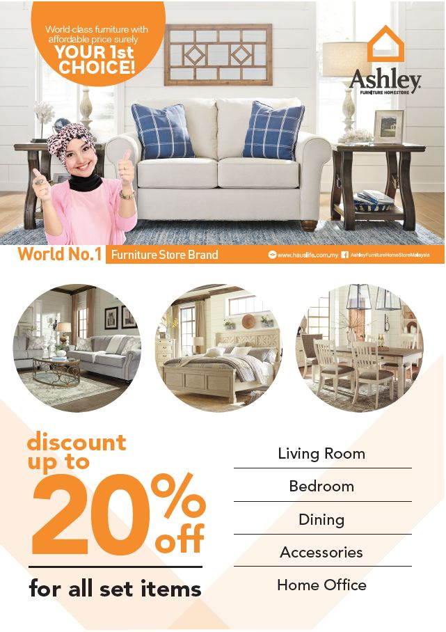 Ashley furniture year end big bonus deal for Furniture year end sale 2017