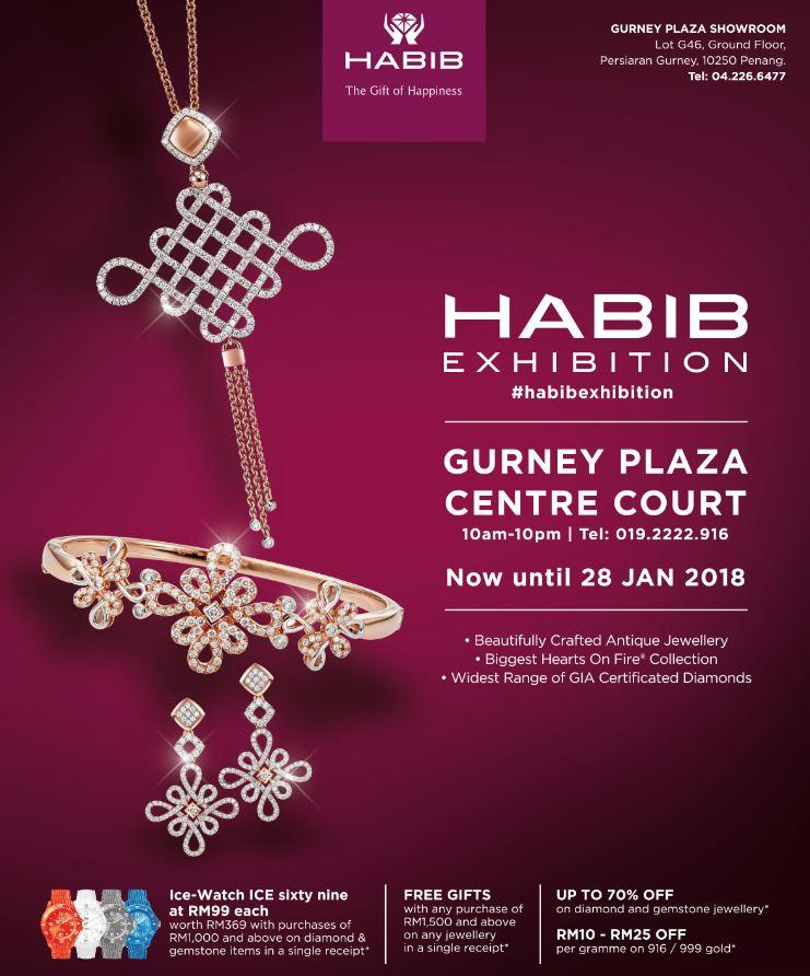 D Exhibition Penang : Habib jewels gurney plaza centre court exhibition