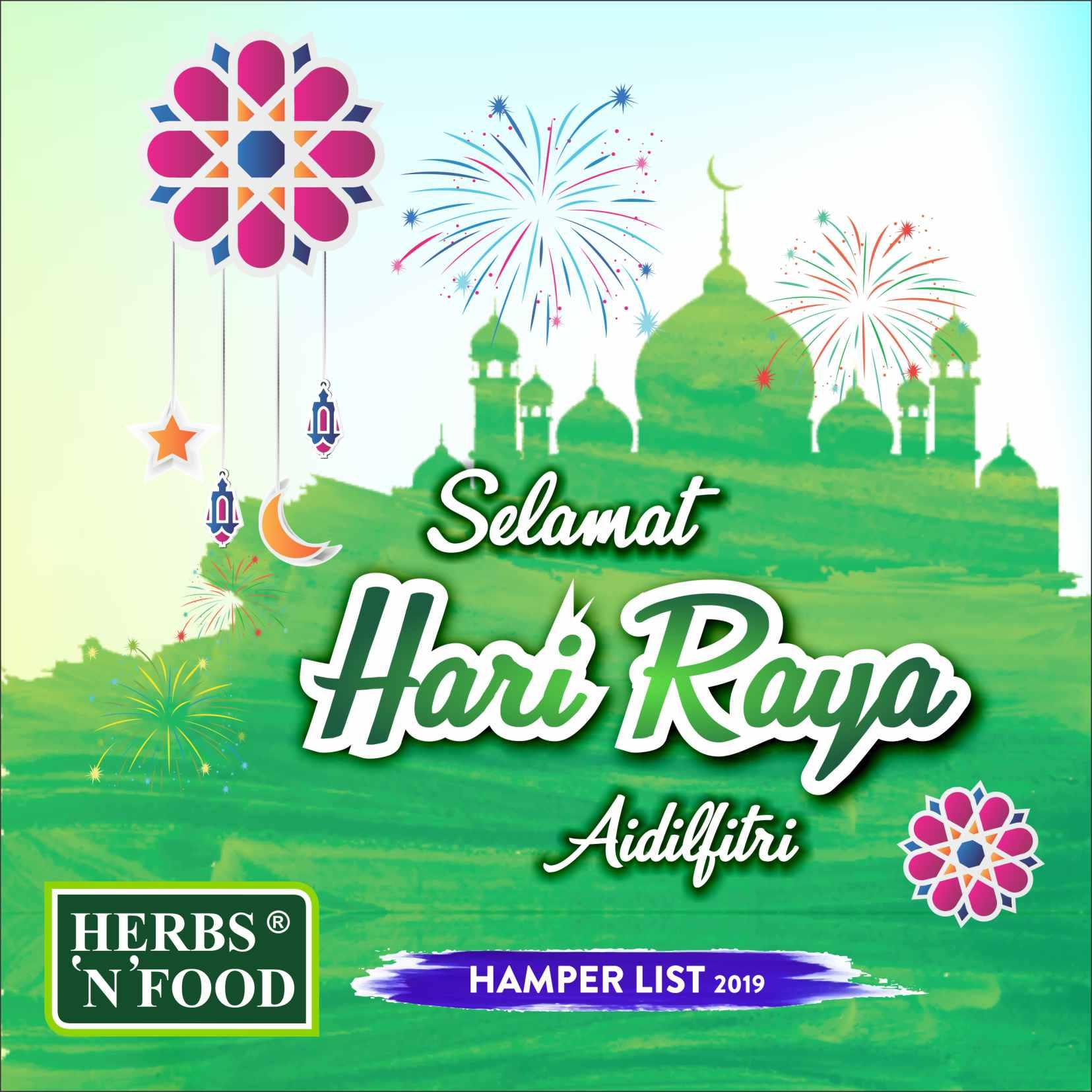 Herbs N Food Raya Hamper 2019